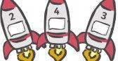 Number rockets - 1 more