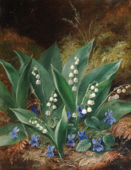 Albert Durer Lucas - Lilies of the Valley