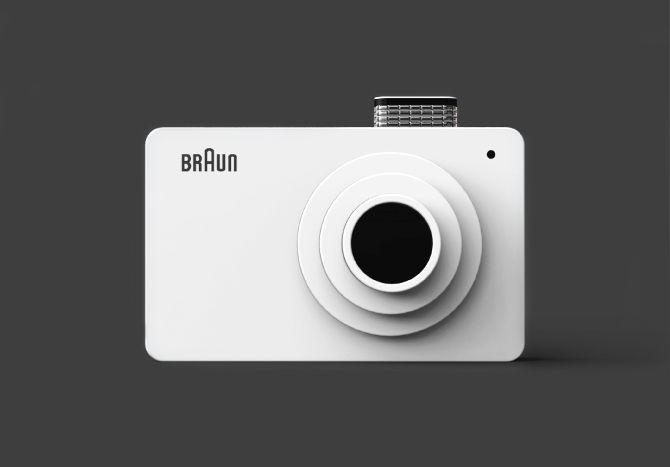 Kim Seongjin : Digital Camera : Hommage for BRAUN