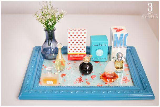 organizar os perfumes