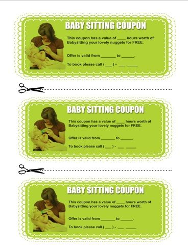 Best 25+ Babysitting coupons ideas on Pinterest Printable - microsoft coupon template