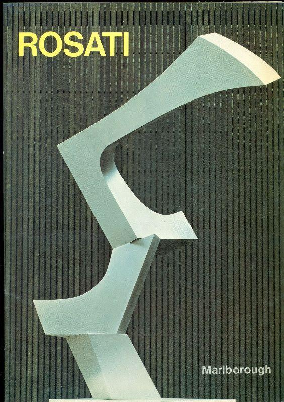 James Rosati. Recent Works.  New York, Marlborough Gallery, 1977.