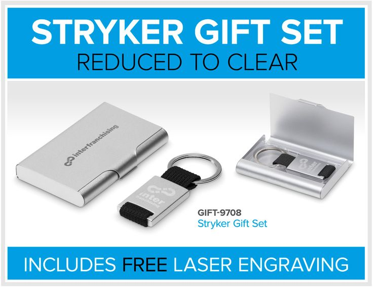 Stryker Gift Set – Reduced To Clear – Bell Jar Pty Ltd