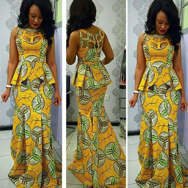 123 Best Ghana Wedding Dress Images On Pinterest