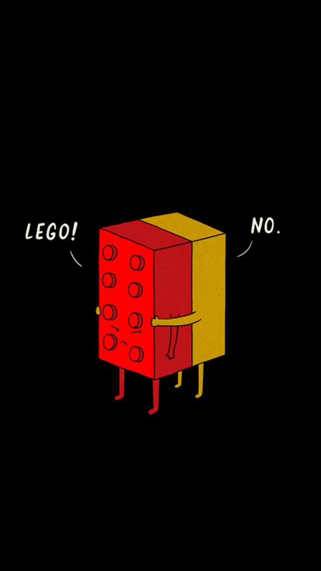 Funny LEGO Pieces Hugging IPhone 5 Wallpaper   Http://freebestpicture.com/