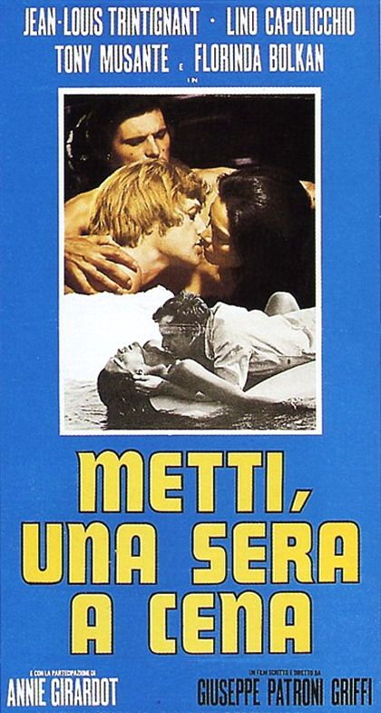 Metti, una sera a cena. Giuseppe Patroni Griffi, 1969