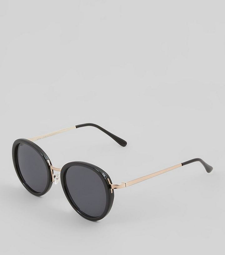 L2017 http://www.newlook.com/row/womens/accessories/sunglasses/black-round-lense-sunglasses/p/517924801?comp=Browse