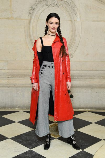 Charlotte Le Bon attends the Christian Dior show as part of the Paris Fashion Week Womenswear Fall/Winter 2018/2019 on February 27, 2018 in Paris, France.