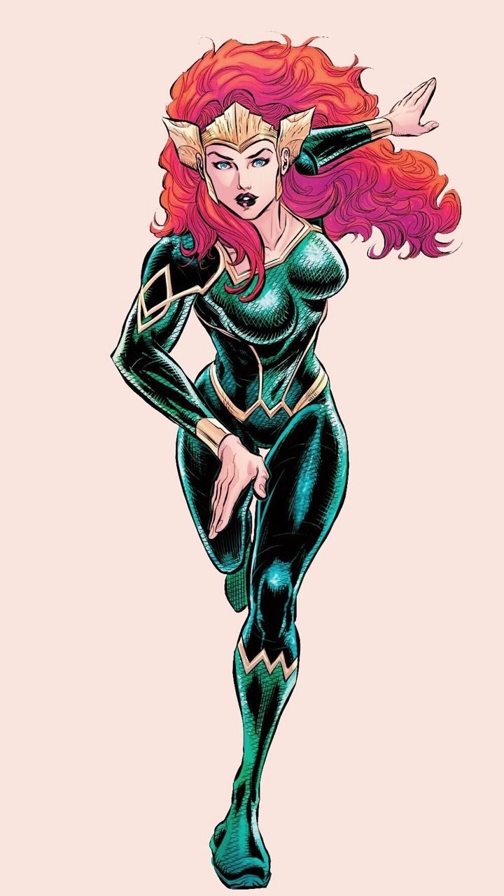 ✷➦Mera in Justice League #24✷➦
