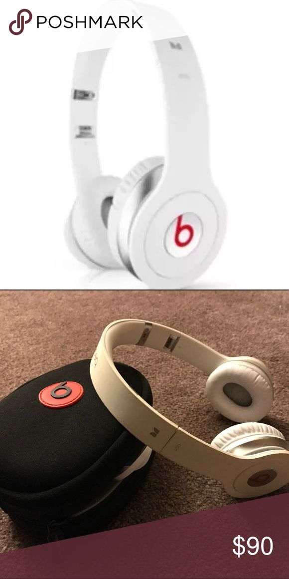 Selling this Limited Dr. Dre White Beats Headphones x Monster on Poshmark! My username is: queenofresell. #shopmycloset #poshmark #fashion #shopping #style #forsale #Beats By Dr. Dre #Other