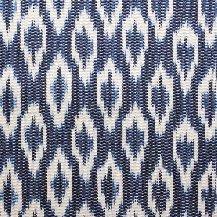 Solola Ikat Fabric - Indigo - Textiles