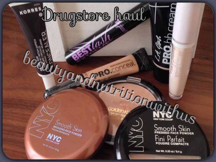 Drugstore haul+swatches!!!