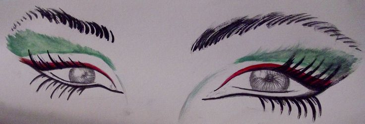 Choose your make up for 42nd National Day
