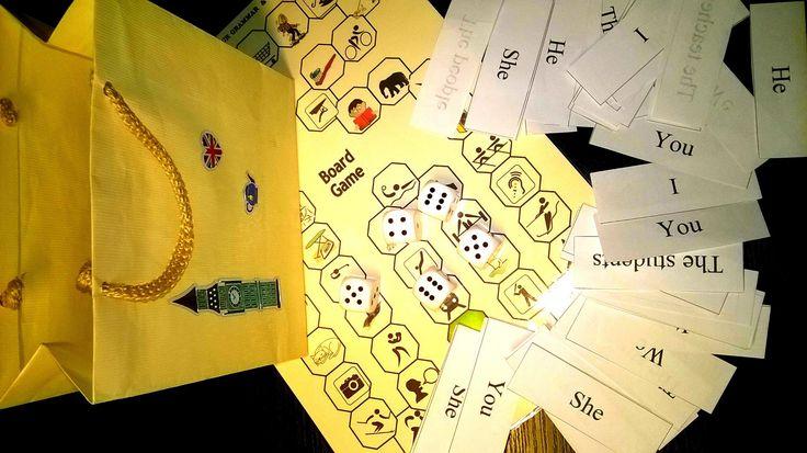 Wielu uczniów ma problem z zastosowaniem czasów gramatycznych w praktyce. Ułatwmy więc im to uciążliwe zadanie. Ja używam mojej ulubionej wielozadaniowej planszy do gry! Bardzo proste i tanie narzę…