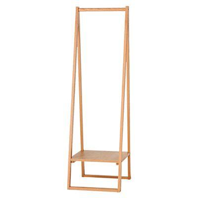 木製コートハンガー・タモ材/ナチュラル 幅44×奥行53.5×高さ150.5cm | 無印良品ネットストア