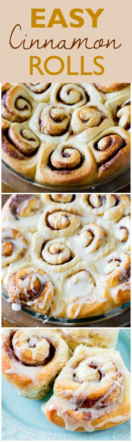 If you're new to working with yeast, these soft and fluffy homemade cinnamon rolls are a perfect place to start! Click through for the recipe.