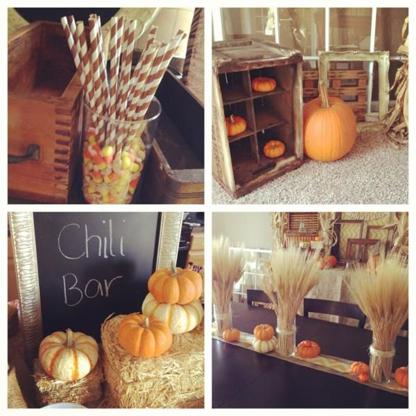 Fall Themed Pumpkin Boy Girl Harvest Birthday Party Planning Ideas
