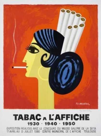Tabac à l'Affiche – Pierre Fix-Masseau – France (1990)