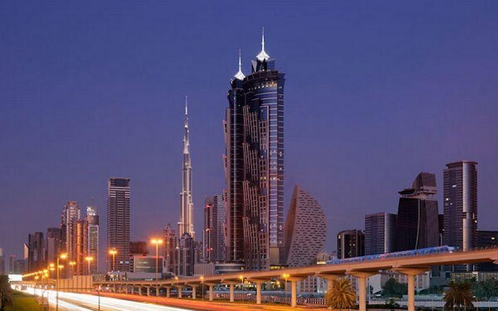 Hotel mais alto do mundo é inaugurado em Dubai - JW Marquis , burj al arab, melhores hoteis de dubai, the hotel dubai | Engenharia é:
