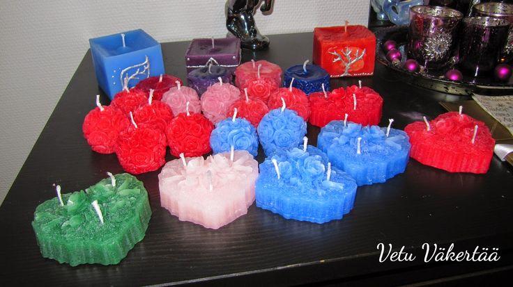 Kynttilöitä - Candles