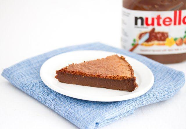 2 Ingredient Flourless Nutella Cake | Kirbie's Cravings | No Joke - these are the delicious, fudgy brownies!!