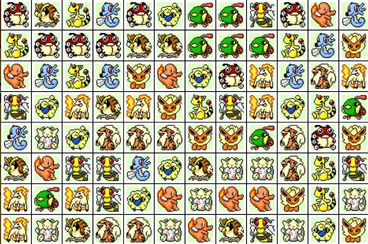 Pikachu Classic - Fire Storm Game - Play Game Online Free