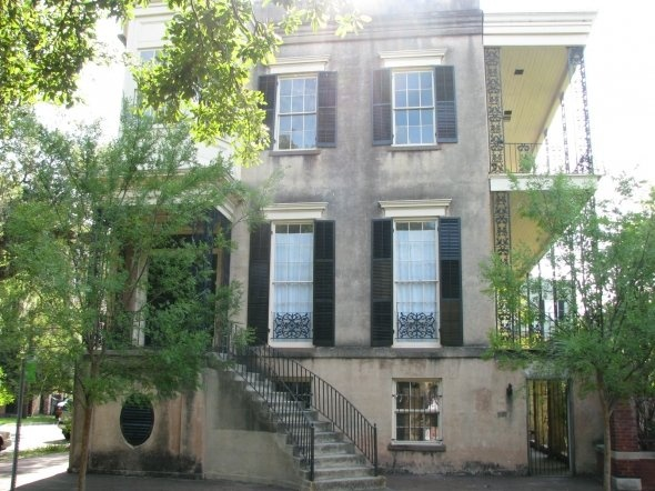 Haunted House at 432 Abercorn St.  Very mysterious place.