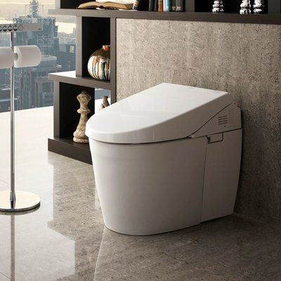 Toto Neorest Dual Flush Elongated One Piece Toilet With High Efficiency Flush Smart Toilet Toilet Traditional Toilets