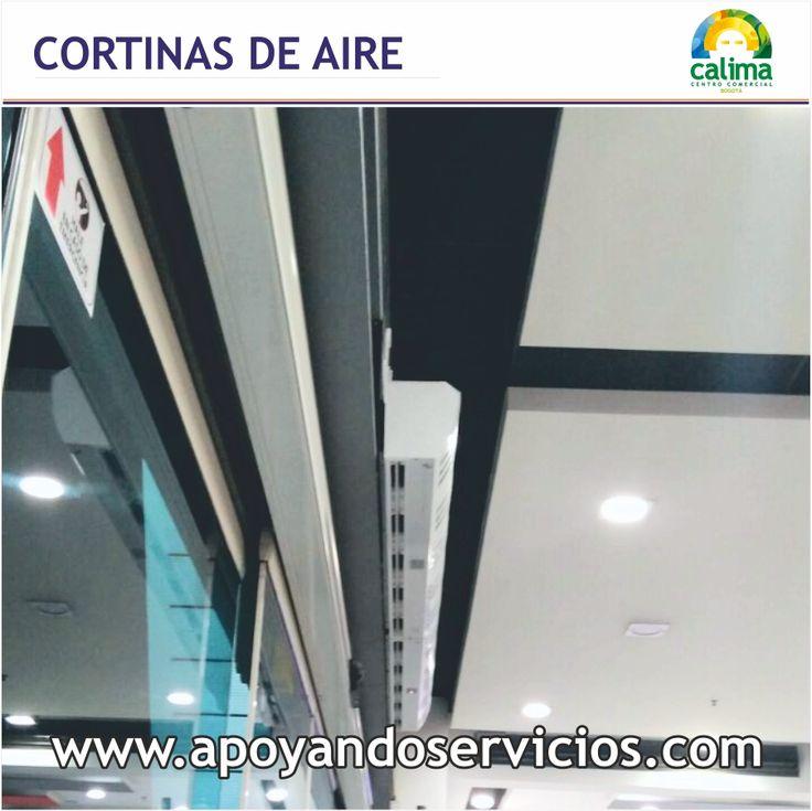Servicio: Sistemas de Ventilación Proyecto: Suministro y Montaje de Cortinas de Aire Centro Comercial Lugar: Centro Comercial Calima Bogotá Ejecuta: Apoyando Servicios SAS