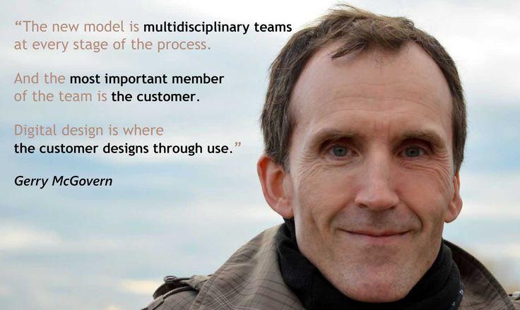 Multidisciplinary teams - Gerry McGovern