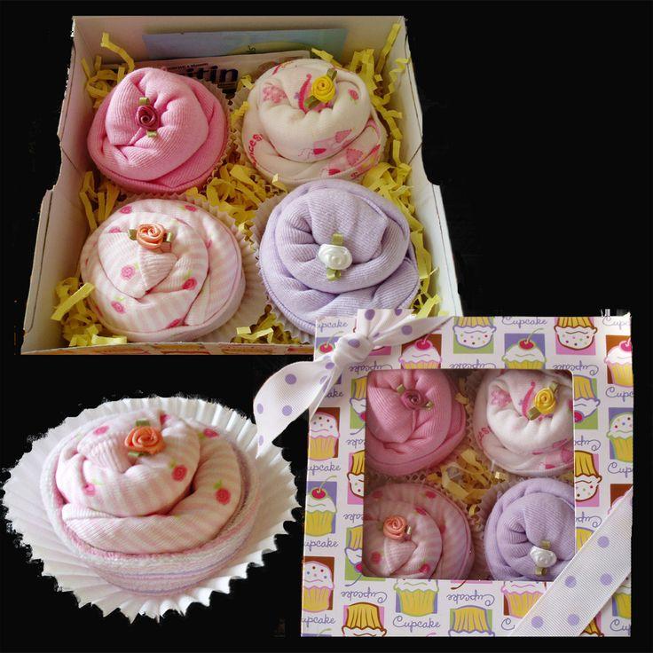Regular Onesie Cupcakes - My Precious Arrival
