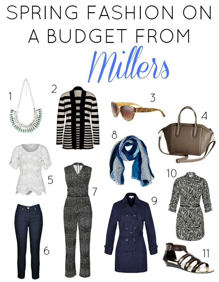 Spring Fashion on a budget from Millers | Sonia Styling