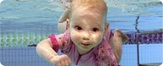 Free online swimming lessons for babies, going to try it...a little nervous, but baby CPR classes are in my future first :)