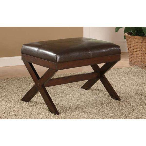 Lister Upholstered Stool