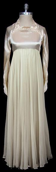 1930s wedding dress via The Frock