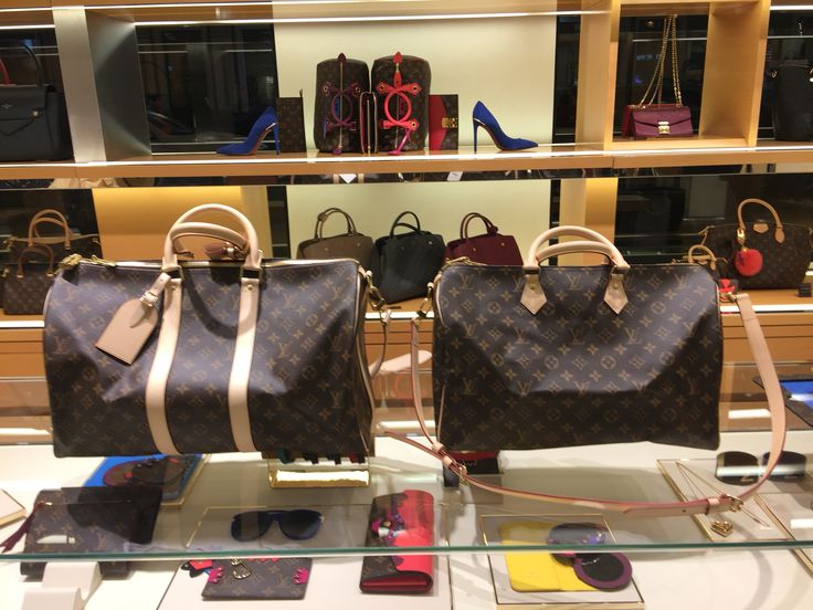 Louis Vuitton Keepall 45 and Speedy 40