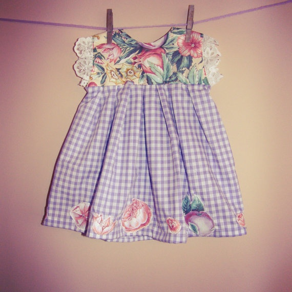 912 months beautiful hand crafted dress with by missrachelholly, £17.00