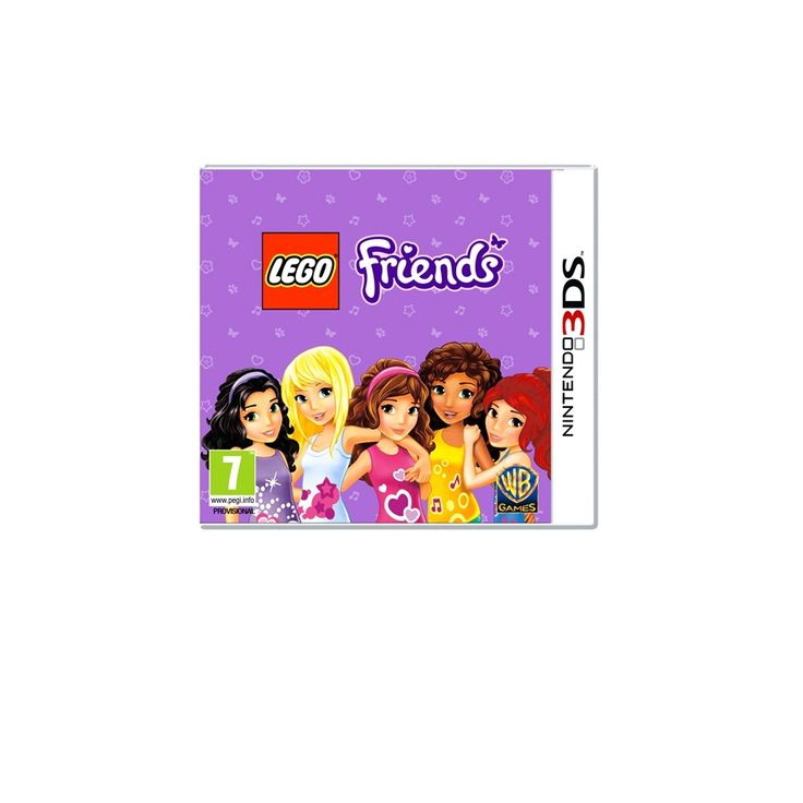 Lego Friends 3DS bday