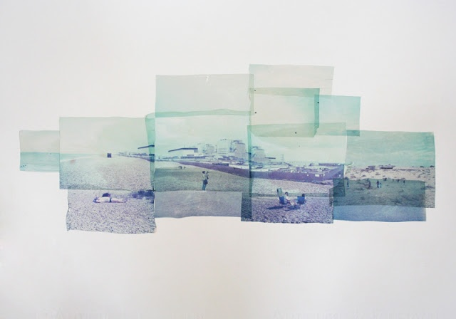 Shooting Film: Polaroid Emulsion Lift on Paper by Rhiannon Adam