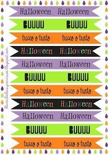 Descargables: Pack para decorar en Halloween