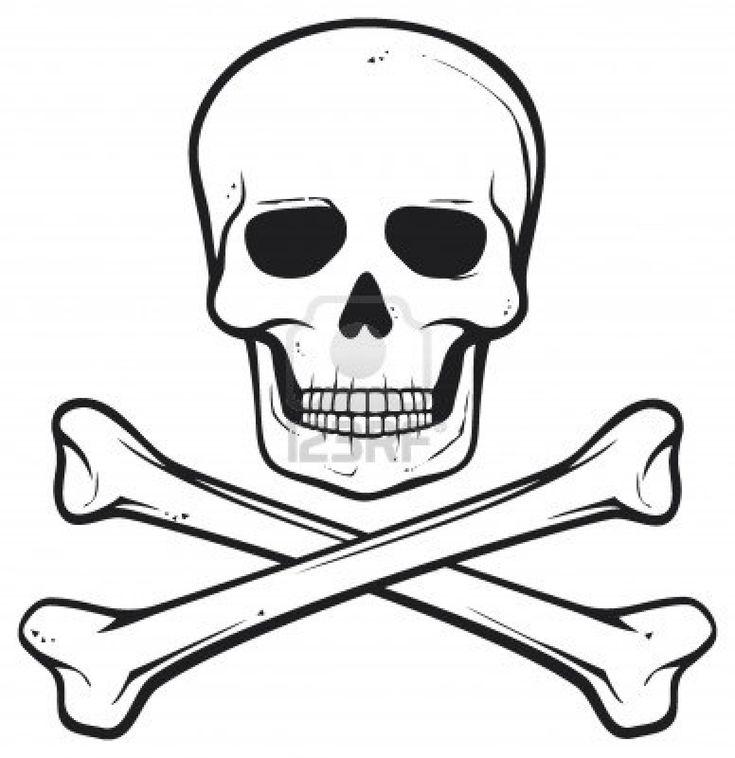 Skull And Bones (pirate Symbol) Royalty Free Cliparts, Vectors ...