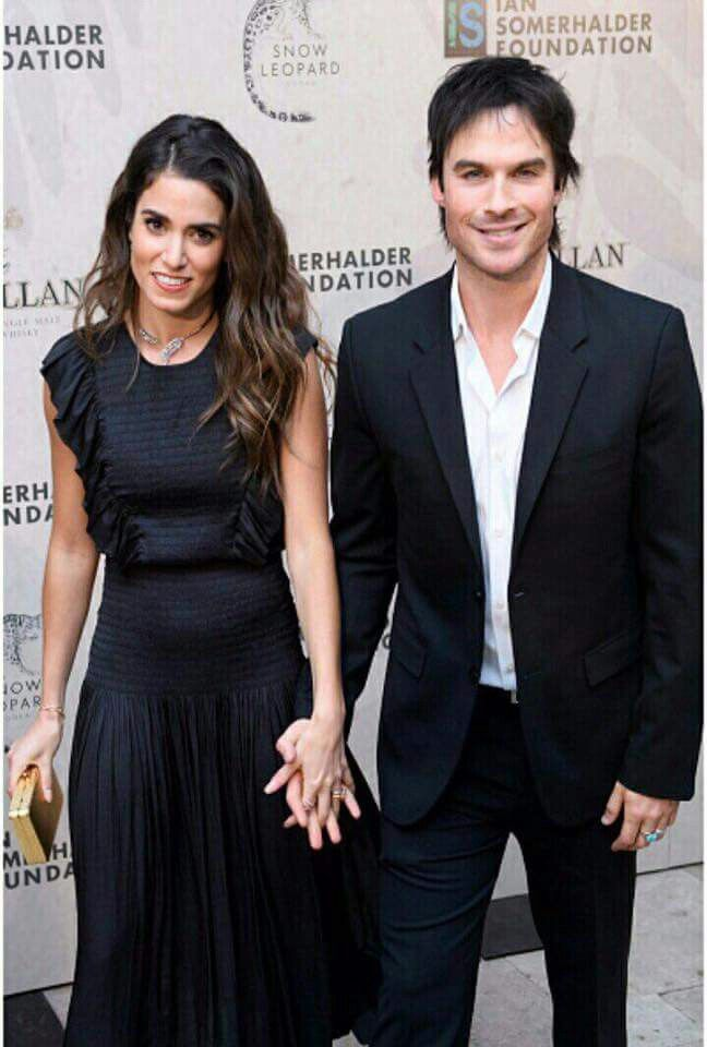 Nikki Reed and Ian Somerhalder in Chicago, IL for The Ian Somerhalder Foundation Benefit Gala on Saturday, December 3rd, 2016