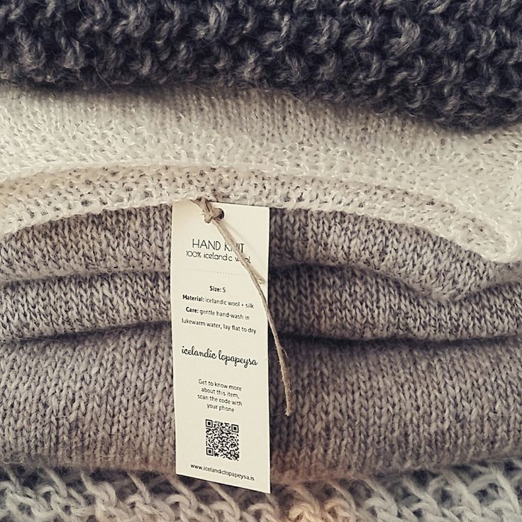 Gorgeous woolen goods made in icelandic wool