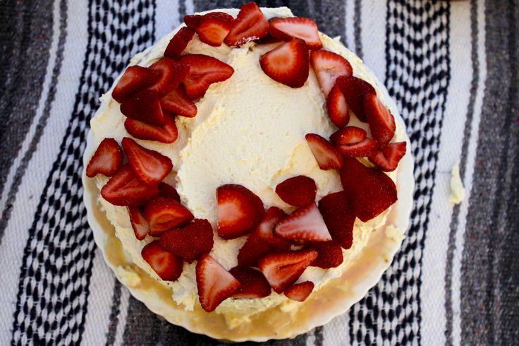 Tres Leches with Cajeta and Strawberries - Recipe by Rick Bayless