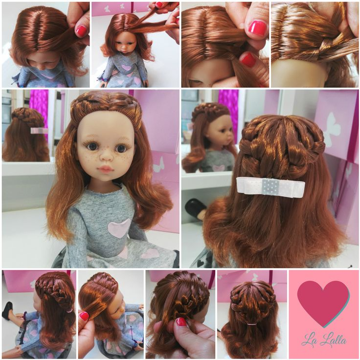 New hairstyle for your La Lalla doll. Beautiful doll, that looks like your little girl. She has the same clothes as your child.