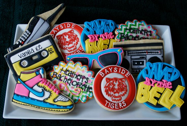 Saved by the Bell Themed Cookies by CaseysConfections on Etsy