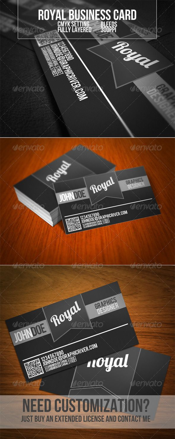 Royal Business Card | Business cards, Business and Print templates