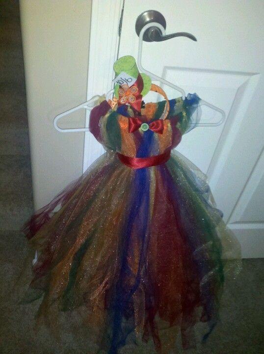 images of mad hatter tutus | DIY Tulle costume Mad Hatter tutu dress