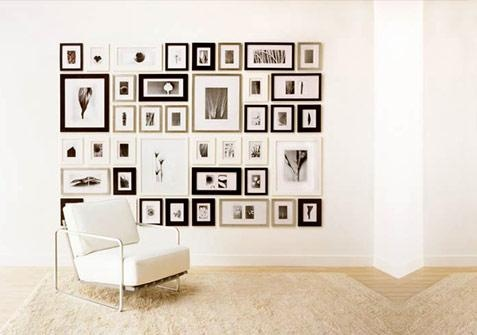 Combinacion de Cuadros: Decor, Ideas, Photo Walls, Frames, Gallery Walls, Galleries Wall, Photos Wall, Picture Walls, Pictures Wall
