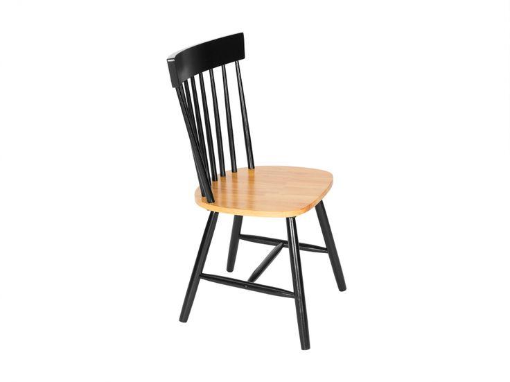 KÄLLSÄTER Stuhl Eiche Schwarz in der Gruppe Für den Innenwohnbereich / Stühle / Esszimmerstühle bei Furniturebox (110-62-69465)